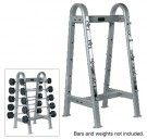 ETS Fixed Straight And Curl Bar Rack