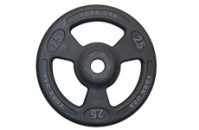 ISO-Grip Olympic Plate (Urethane Encased)